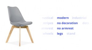 Chair AI Tags