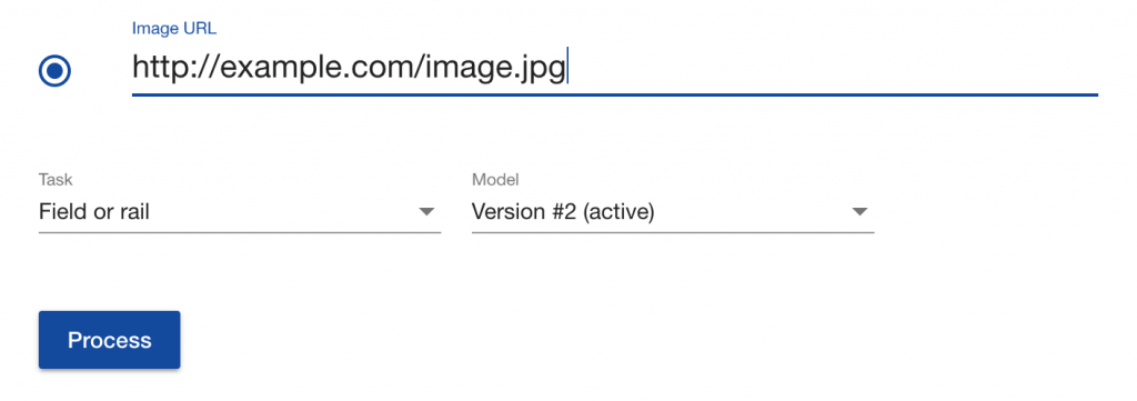 Upload image for AI