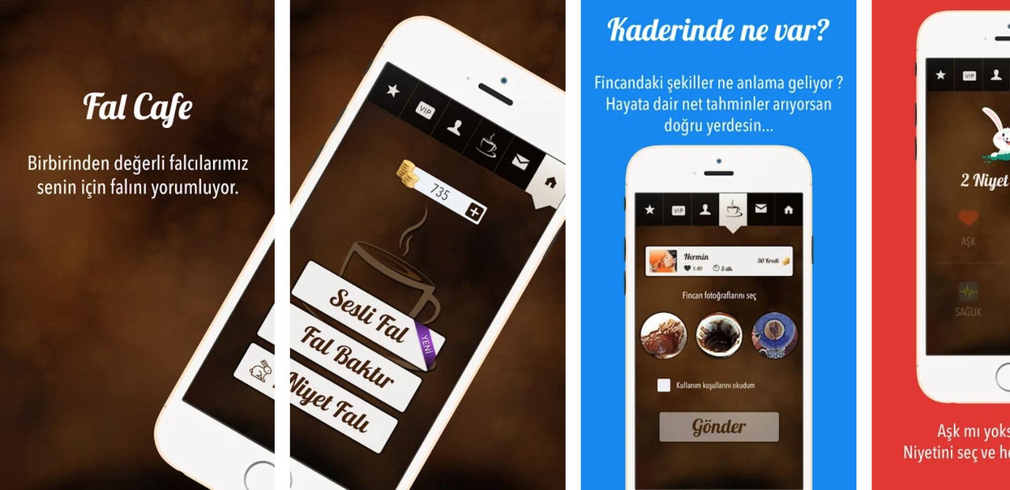 Fal Cafe mobile app
